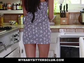 MyBabySittersClub - Hot BabySitter Becomes Fulltime Sexsitter