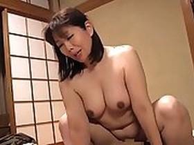 Asian Mother Get Surprise Pounding