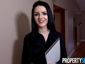 PropertySex - Careless real estate agent fucks boss to keep her job