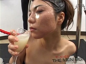Big load bukkake and swallow girl 6 5/5 Japanese Uncensored