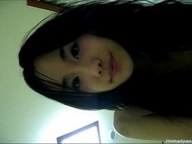 Beautiful Korean model and her private tape